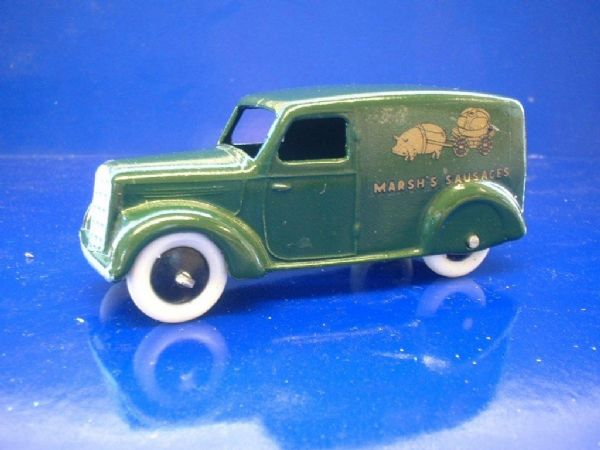 "A DINKY TOYS COPY MODEL 28 SERIES TYPE 3 DELIVERY VAN ""MARSH SAUSAGES"""